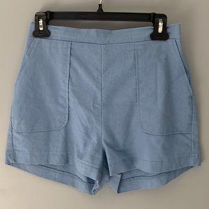 4 for $20 Shinestar High Rise Flat Front Shorts